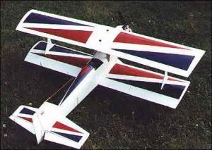 Pit Master Biplane