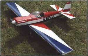 CAP 21 Aerobatice Model